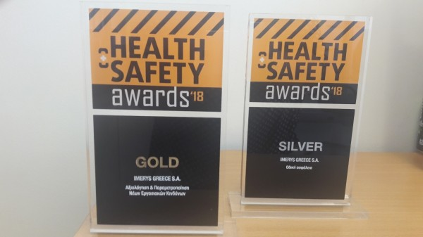 Imerys Awards - Health & Safety Awards 2018
